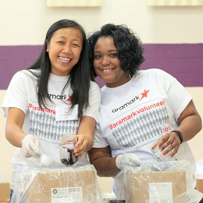 Aramark Building Community Day